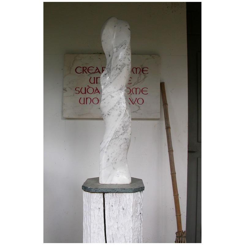 o.T. Carrara-Marmor 2012 - Privatbesitz
