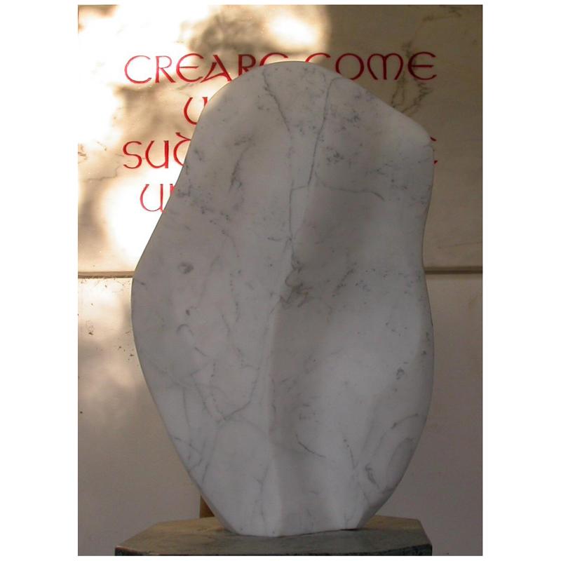 o.T. Carrara Marmor 2012 - Privatbesitz